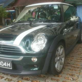 MINI COOPER S 1.6(M) TURBO 2008 6 SPEED