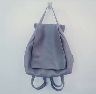 Local Made Backpack in Gray
