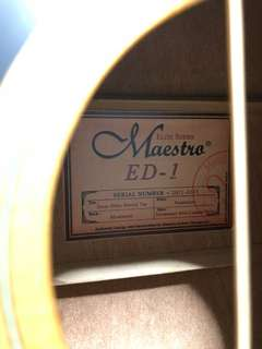 Maestro Elite Series ED-1