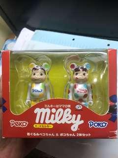 Bearbrick 100% milky 牛奶妺