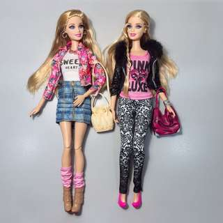 Barbie Style Doll Set of 2