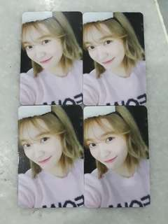 [CLEARANCE SALE!!!] RED VELVET OFFICIAL YERI BAD BOY PHOTOCARD