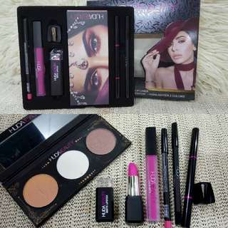 HUDA BEAUTY 7 PIECES OF FASHION MAKEUP SET