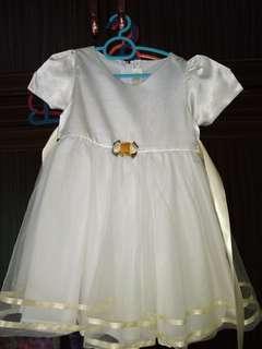 Gown flower girl saiz 2