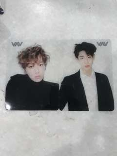 VAV OFFICIAL TRANSPARENT CARD