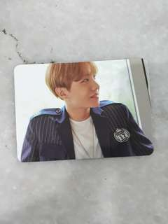 [RARE!!] BTS SEASON GREETING 2017 OFFICIAL JHOPE PHOTOCARD