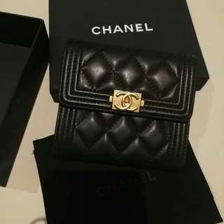 Chanel leboy wallet