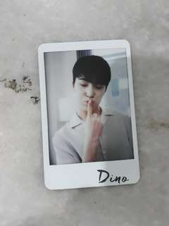 [CLEARANCE SALE!!!] SEVENTEEN DINO PHOTOCARD