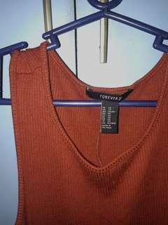 FOREVER 21 knitted dress