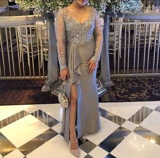 Custom made long dress