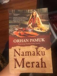 Namaku merah by Orhan Pamuk