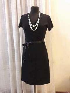Wrap Around Black Dress Brandnew