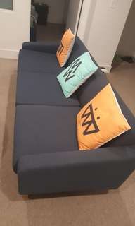 Double bed, 3 seater sofa and study table. self collection at melborne central