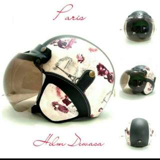 Helm Bogo Motif Paris Mobil