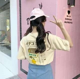Aesthetic Japanese/Korean Oversized Shirt