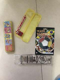 All for 50 - Set of 2 Pencil Case + Face Paint