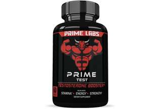 [IN-STOCK] Prime Labs Men's Testosterone Booster (60 Caplets) - Natural Stamina, Endurance and Strength Booster - Fortifies Metabolism - Promotes Healthy Weight Loss and Fat Burning
