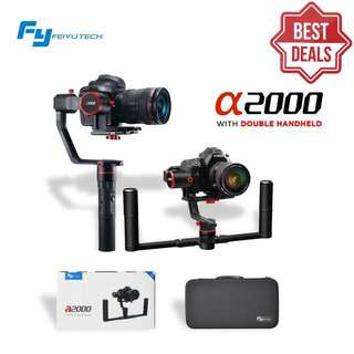 Feiyu A2000 Dual & Single handle Gimbal Kit