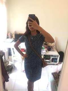 Sailor blue dress