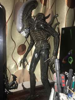 neca 新版18吋超大異形 無損 無盒 有塵自己清 alien xenomorph big chap
