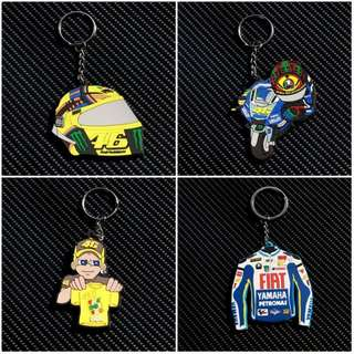 The Doctor 46 Rossi Valentino Moto GP Keyring