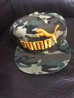 PUMA迷彩版帽