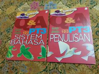 PT3 Q&A (penulisan & sistem bahasa)