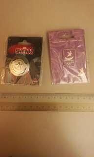 Yog pin & captain America pin