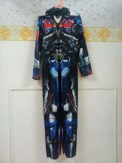 Costume transformer 6-7 tahun