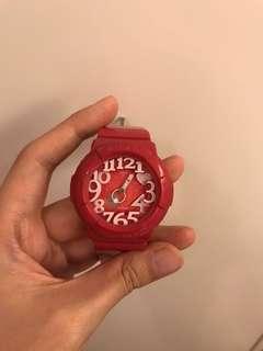Baby-G 粉紅色手錶