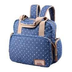 Cute Multifunctional 2 Main Pockets Mommy Bag Handbag