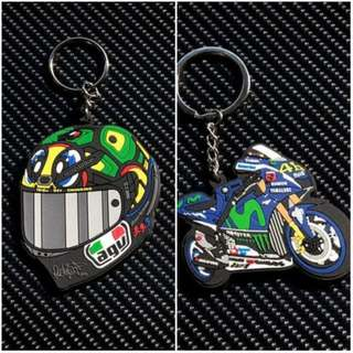 The Doctor AGV 46 Rossi Valentino Moto GP Keyring