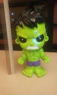 The hulk coin bank