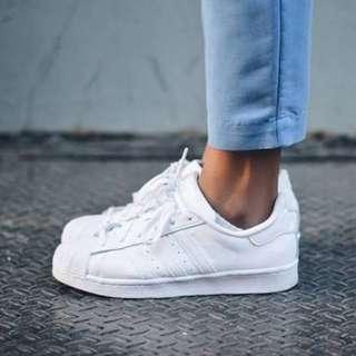 Adidas original full white.