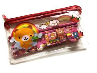 Pencil case w stationeries