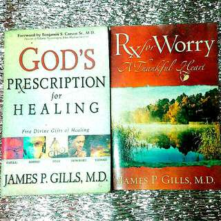Book Bundle by James P. Gills MD