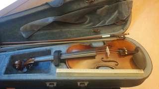 Mini portable violin