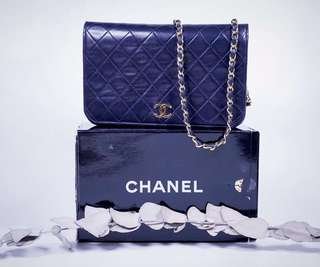 Vintage Chanel Lambskin Flap Bag