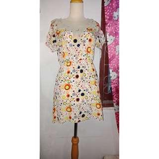 Dress polkadot(net 25 barter 40)