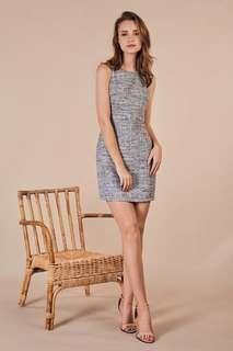 BNWT TCL Fenize Tweed Dress in Black