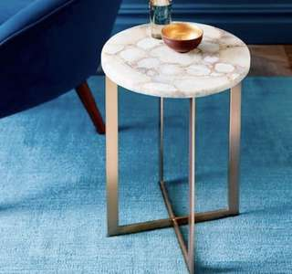 Gold Marble Coffee Table