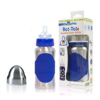 LATEST MODEL Hot-Tot 7oz Insulated Baby Bottle - Pacific Baby