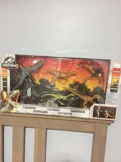 Jurassic World Legacy Collection 6 Dinosaurs Figures Set (Exclusive, Rare!)