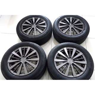 Original Inspira Sport Rims with Michelin Tayar