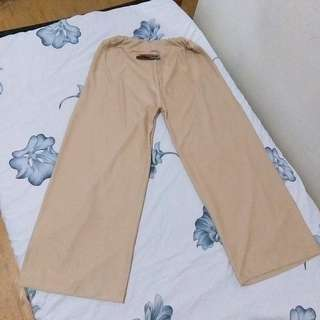 100% new celana kulot (karet)