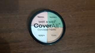 Wet n Wild Coverall Concealer Pallete