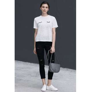 Theclosetlover Ansel Skinny Jeans in Black - Size XS