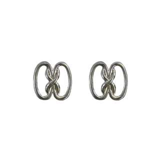 歐美時髦8字抽象金屬耳環