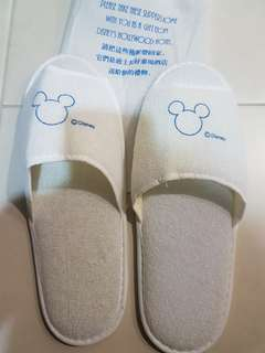 HK Disneyland Bedroom Slipper - men's size
