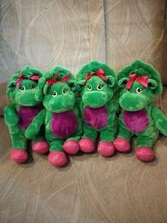 Barney (baby bop) 4 for $12